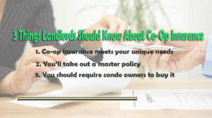 3 Things Landlords Should Know About Co-Op Insurance