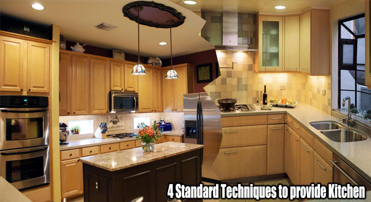 4 Standard Techniques to provide Your Kitchen space the Face Lift it Requirements